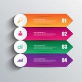 Calibre de conception d'ampoule d'Infographics Photographie stock libre de droits