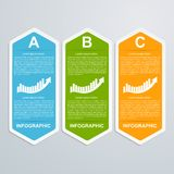 Calibre de conception d'Infographic Photo stock
