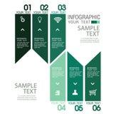 Calibre de conception d'Infographic avec l'illustration graphique d'ensemble d'éléments Dossier de vecteur dans les couches pour  Images stock