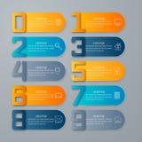 Calibre de conception d'Infographic et concept d'affaires Image libre de droits