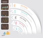 Calibre de conception d'Infographics d'affaires Illustration de vecteur canette illustration stock