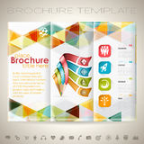 Calibre de conception de brochure Image stock