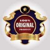 Calibre de conception de label Photo libre de droits