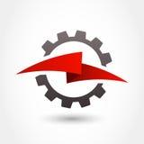 Calibre de conception de logo de vecteur Forme de vitesse et de foudre, affaires illustration libre de droits