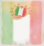 Calibre de conception de pizza Photo stock