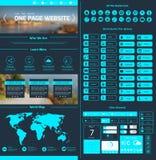 Calibre de conception de site Web Photo libre de droits