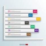 Calibre de conception de vecteur d'Infographics Photographie stock libre de droits