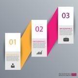 Calibre de conception de vecteur d'Infographics Images stock