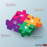 Calibre de conception de vecteur d'Infographics Photographie stock