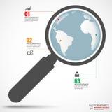 Calibre de conception de vecteur d'Infographics Image libre de droits
