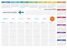 Calendrier Finlandais Pour 2018 2019 2020 Programmateur Ordre Du
