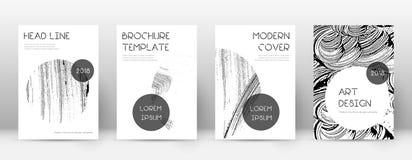 Calibre de conception de page de couverture Disposition à la mode de brochure illustration libre de droits