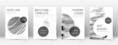 Calibre de conception de page de couverture Disposition ? la mode de brochure illustration de vecteur