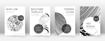 Calibre de conception de page de couverture Disposition ? la mode de brochure illustration stock