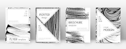 Calibre de conception de page de couverture Layou ?l?gant de brochure illustration de vecteur
