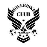 Calibre de conception de vecteur de club de Hoverbike illustration libre de droits