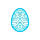 Calibre de coupe heureux de laser de Pâques pour des cartes de voeux Image libre de droits