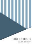 Calibre de couverture de brochure Photo stock