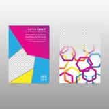 Calibre de couverture moderne de livre d'abrégé sur vecteur Vecteur de fond abstrait moderne Photos libres de droits
