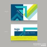 Calibre de design de carte d'affaires Images stock
