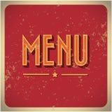 Calibre de design de carte de menu de restaurant. Photo libre de droits