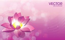 Calibre de fond de vecteur de fleur Image stock