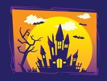 Calibre de fond de Halloween illustration libre de droits