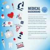 Calibre de fond médical Vecteur Images libres de droits
