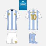 Calibre de kit du football pour votre club de sport illustration libre de droits