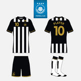 Calibre de kit du football pour votre club de sport Vecteur illustration stock