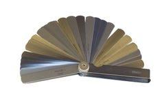 Calibre de lâminas Imagem de Stock