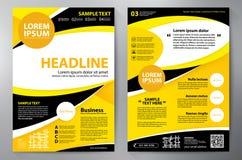 Calibre de la conception a4 de brochure Image libre de droits