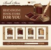 Calibre de librairie Photos stock