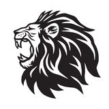 Calibre de Lion Roaring Vector Icon Logo Photographie stock libre de droits