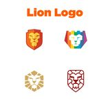 Calibre de LionLogo Photos stock