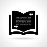 Calibre de livre de citation illustration de vecteur