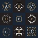 Calibre de logo de monogramme Image stock