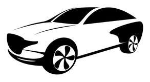 Automobile stylise de vecteur stock illustrations vecteurs clipart 699 stock illustrations - Dessin voiture stylisee ...