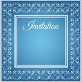 Calibre de luxe d'invitation illustration stock