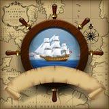 Calibre de navigation illustration stock