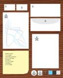 Calibre de présent de carte de visite professionnelle de visite Images libres de droits