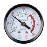 Calibre de pressão Foto de Stock Royalty Free