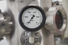 Calibre de pressão do vácuo imagens de stock
