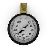 Calibre de pressão rendido ilustração do vetor