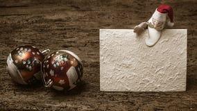 Calibre de salutation de Noël Photographie stock libre de droits