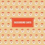 Calibre de Santa Claus Christmas Pattern Vector Background Photos stock