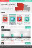 Calibre de site Web illustration libre de droits