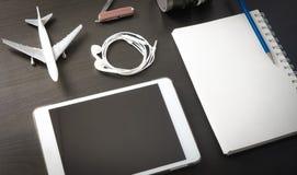 Calibre de site Web d'agence de voyages de Tablette image libre de droits