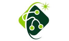 Calibre de solutions de santé illustration de vecteur