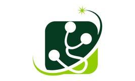 Calibre de solutions de santé illustration stock
